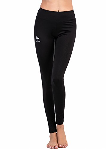 Cody Lundin Femme Sport Pantalon Collant Couleur Unique Sport Yoga Pants Noir