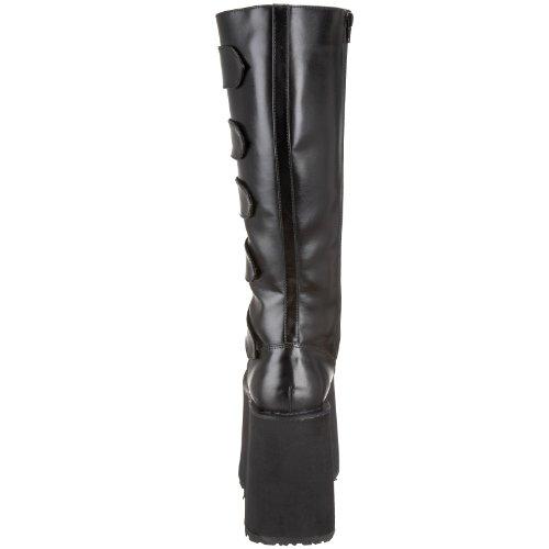 Femme Col Haut Noir Demonia (schwarz)