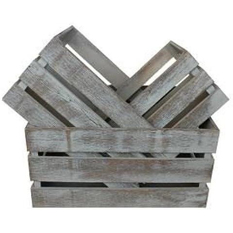Conjunto de 3 listones de madera del cajón