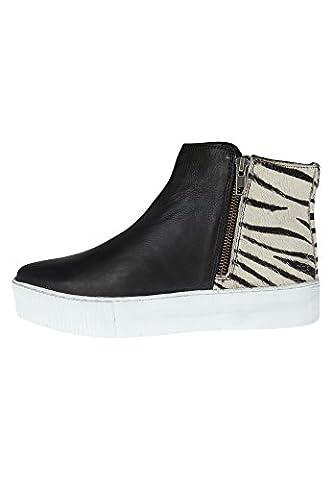 Maruti, Bottes pour Femme - - mini zebra white black, 37