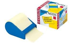 Esselte DEFIL'NOTES notes repositionnables, 10 m x 60 mm,