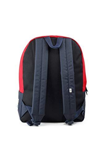 Best vans backpacks in India 2020 Vans Captain Marvel Backpack Racing Red Schoolbag VN0A3QXFIZQ Vans Marvel Bags Image 3