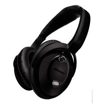 Bose Triple Black QuietComfort 15 Acoustic Noise Cancelling Headphones (Bose Qc 15)
