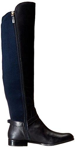 Franco Sarto Mast Cuir Botte Dark Blue