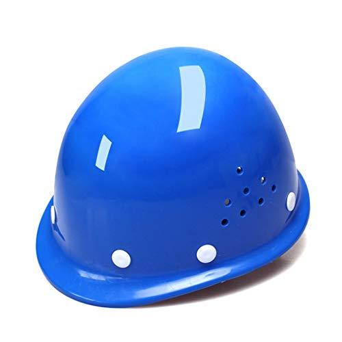 Hochfester GFK-Helm 8 Punkte Feste Belüftungsschutzkappe Für Den Luftarbeitsmaschinenbau Im Außenbereich, 4 Farben (Color : Blue)