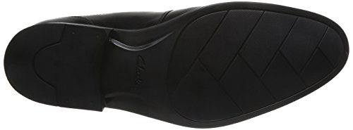 Clarks Kalden Edge, Scarpe Derby con lacci uomo Nero (Black Leather)