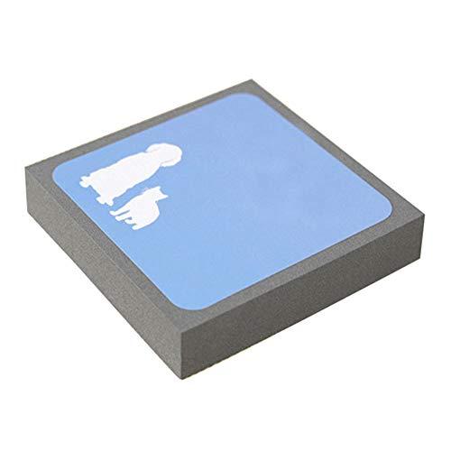 Selotrot Haustier-Reinigungsschwamm Bürste Reiniger Haarfellentferner Block Radiergummi für Möbel Sitze Sofa Kleidung - 1 PC (Eraser Reinigungsschwamm)