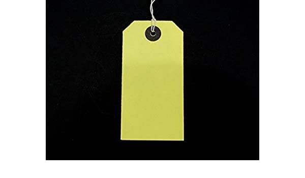 Ivy White Strung Tags 70mm x 35mm Luggage Labels Tags Tickets Tie On String Labels 100 Pack