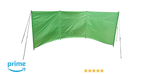 Cao Camping Windschutzsichtschutz Für Den Strand 4 M Amazonde