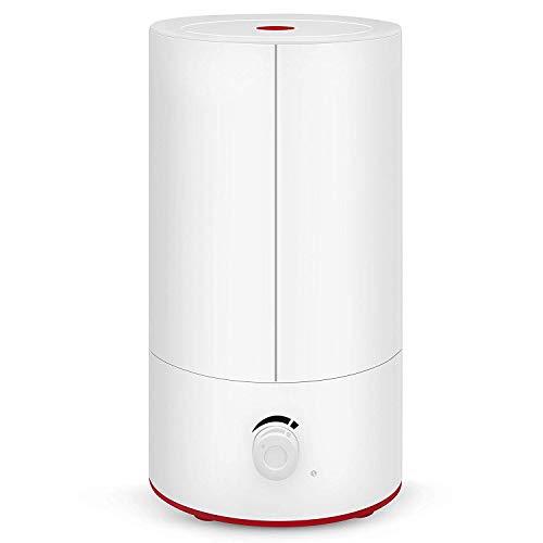 Movaty 4L Humidificador Ultrasónico difusor de Aroma, Ambientador,Gran Capacidad Silencio Control Dial,Difusor Bebé Seguridad Ultrasónico, Silencioso, Boquilla 360° Grados