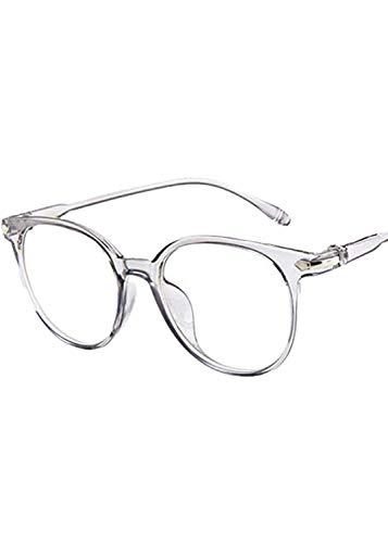 Elsta Blaulichtfilter Brille, UV Schutzbrille gegen Kopfschmerzen, Augenmüdigkeit,Brille für PC TV Tablet Unisex, Computerbrille mit transparenten Linsen für Herren Damen