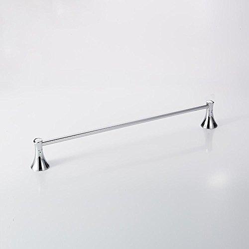 SSBY Cromo bagno accessori portasciugamani, forte resistenza della corrosione, singolo strato (Cromo Lucido Singolo Cilindro)