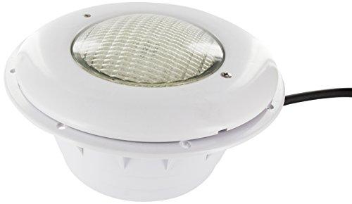 Steinbach Poolbeleuchtung Wireless LED Unterwasserscheinwerfer für Folienbecken, Mehrfarbig, Ø 280 mm
