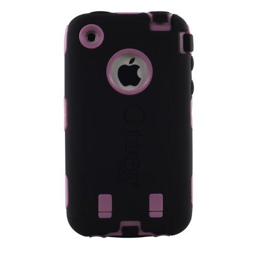 OtterBox Custodia per iPhone 3G/3GS, Roso Plastico/Nero Silicone