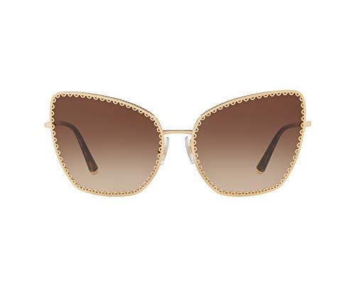 Dolce & Gabbana Damen Sonnenbrille 0DG2212 Gold, 61