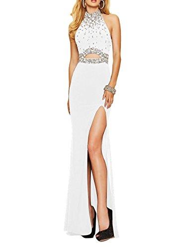 Fanciest Women\'s Sexy Lang Kleides Schwarz Meerjungfrau Ballkleid ...