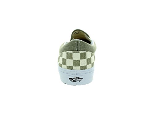 Vans U CLassic SLip-On Stivaletti, Unisex Adulti Bianco ((golden coast) laurel oak)