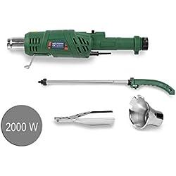 WOLFGANG® Quita hierbas eléctrico | Quemador herbicida de malezas | Encendedor de barbacoa y chimenea | Desmalezadora 2000 W hasta 600 grados