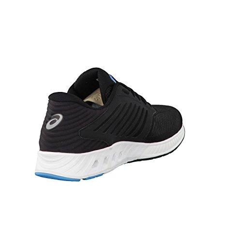 UK Homme Asics 200 Baskets FuzeX Noir Bleu Eqqn7wgI