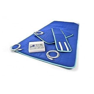 NEU: Magnetfeld-Therapie THERAMAG PROFI Magnettherapie / Magnetfeldtherapie inkl. Steuergerät und Stoffmatte günstig (Stoffmatte + Steuergerät + Manschette + Kissen)