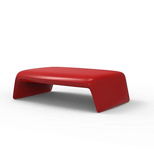 Vondom Blow Table Basse pour l'extérieur Rouge