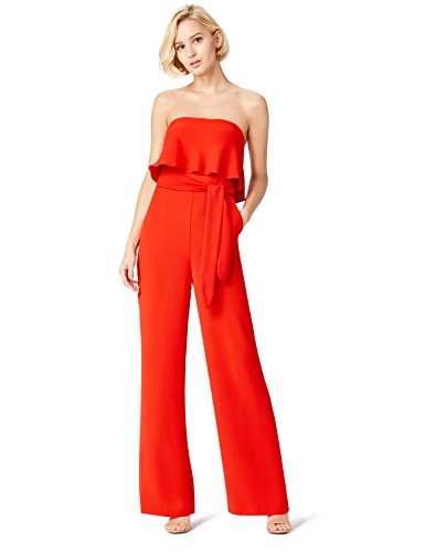 TRUTH & FABLE Mono Mujer, Rojo (Red), Small