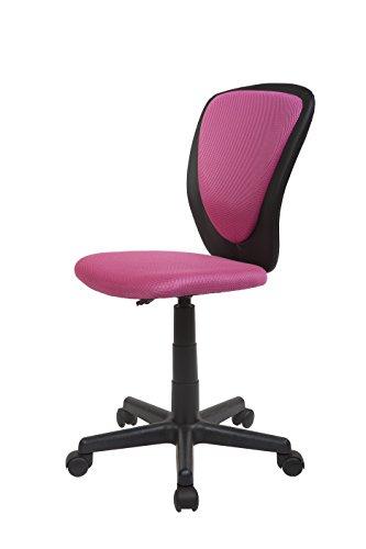 Kinder Schreibtischstuhl Drehstuhl Stuhl Schreibtisch NEU (Pink)