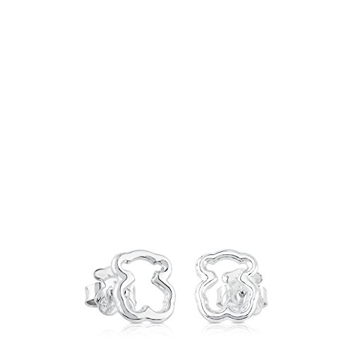 TOUS Pendientes Mujer New Carrusel Plata