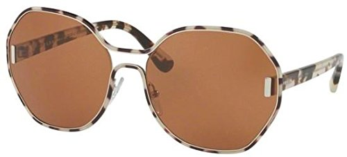 Prada Sonnenbrille 53Ts Silver/White Havana, 62