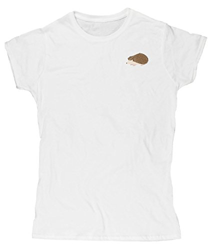Hippowarehouse Damen T-Shirt Weiß