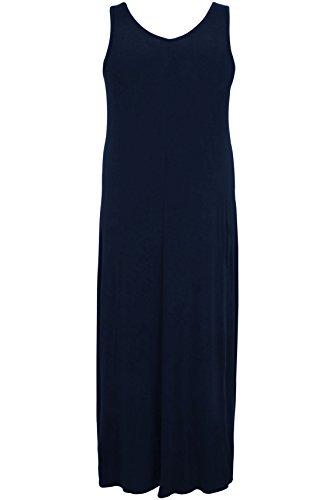 Plus Taille Femme Bump it Up Maternité Maxi robe avec froncée taille côté Détails Noir - Noir