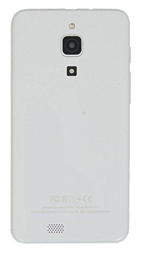 M Horse 5 Quad Core High Performance 3G Dual SIM Smart Phone White