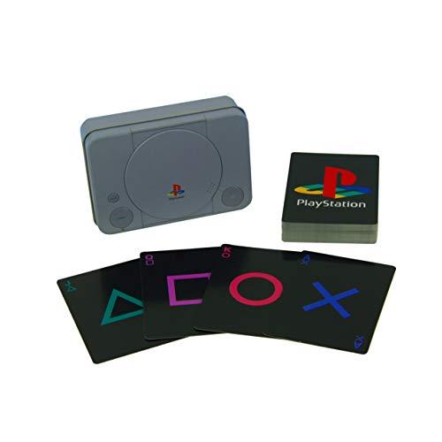 Paladone Carte da Gioco Play Station, Multicolore, Taglia Unica PP4137PS