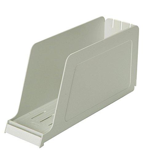 ELBA 100552015 Stehsammler Kassette aus Polystyrol für Kataloge u. Zeitschriften grau