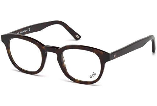 Web we5203, occhiali da sole uomo, marrone (avana scura), 47.0