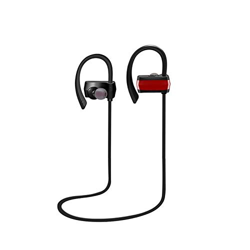Elospy Bluetooth Kopfhörer, 3D-Stereo in Ear Kabelloser Kopfhörer Bluetooth Headset Sport wasserdichte Geräuschreduzierung 8 Stunden Spielzeit In-Ear Ohrhörer mit Mikrofon für iPhone Android