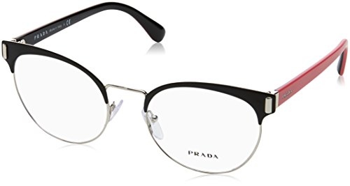 Prada Frame MATTE BLACK/SILVER WITH -