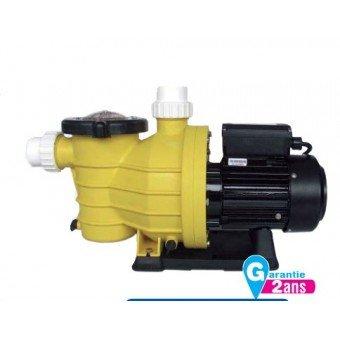 Mareva 07274 - Bomba de piscina caudal 21 m ³/h, potencia,1,2 CV, color amarillo