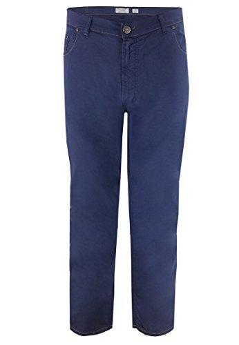 "Maxfort-Pantaloni estivi da uomo, chino 33"" Blau 68"