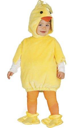 Imagen de disfraz de pollo lucas para bebé t b 6/12