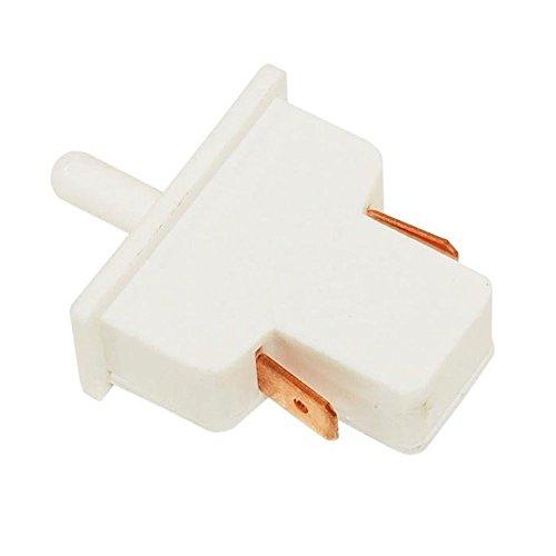 Spares2go Interruptor de luz botón para Smeg Frigorífico Congelador Fitment List B