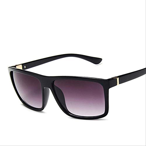 Gafas De Sol Para Hombre Mujeres Cuadrado Uv400 Protección Reflectante Espejo Al Aire Libre Gafas De Conducción Regalos SIN CASO c3