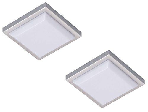 Smartlight 7000.003 LED additionnelle Ultra compacte (12 mm) pour Lampe sous-Meuble/éclairage pour mobilier, Plastique, Blanc