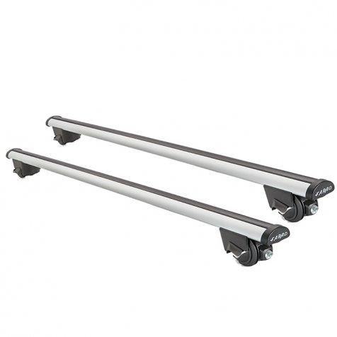 FARAD Dachträger SIME 2 110 cm. für Fahrzeuge mit Dachreling