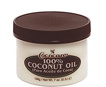 Coconut Oil 100% Natural 7oz, 5 pack by COCOCARE