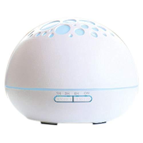 zhang123 Macchina per Aromaterapia Elettrica A 7 LED A Luce Notturna per Aromaterapia Aromaterapia Ad Olio Essenziale Ad Ultrasuoni Yoga Aromaterapia Bianco