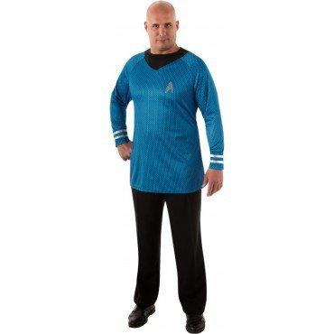 Deluxe Spock Kostüm für Herren Gr. XL, (Uhura Captain Kostüm)