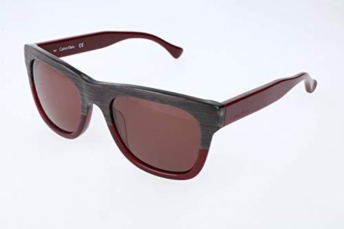 Calvin Klein Unisex-Erwachsene oK Sonnenbrille, Brown, 53