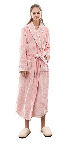 SUIMO - Albornoz Forro Kimono Invierno Mujer Suave