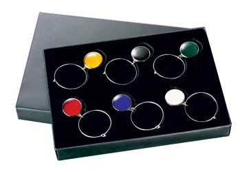Glasmarkierer Glasanhänger Sektglas Weinglas 6-er Set